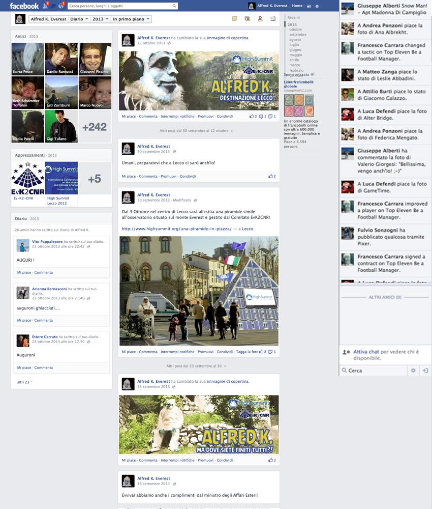 pagina facebook e social media marketing